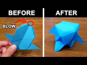 How To Make a Paper ELEPHANT CUBE - Origami