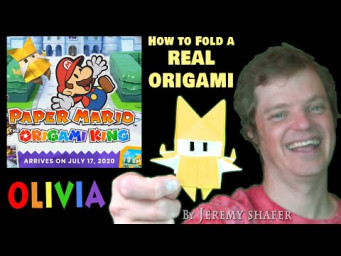 How to fold Olivia - Paper Mario Origami King