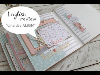 Easy fast BABY ALBUM TUTORIAL by one day!