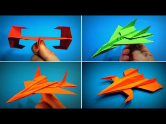 Origami Airplane Collection | How to Make a Paper Airplane | Origami Fighter Jet | Easy Origami ART