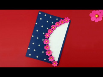 How To Make Teacher's Day Card Easy | Card Idea For Competition | Handmade Greeting Card Tutoria