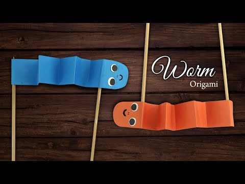 How to Make a Easy Wriggly Worm Tutorial for Beginners