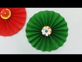 Beautiful Flowers Making With Color Paper | DIY | Paper Flowers Making | Home Décor | Easy Crafts